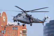34 - Russia - Air Force Mil Mi-35 aircraft