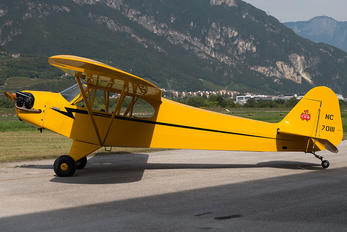NC70111 - Private Piper J3 Cub