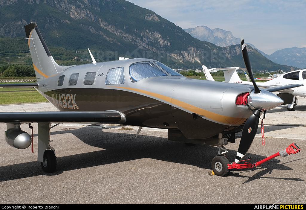 Private N4432K aircraft at Trento - Mattarello