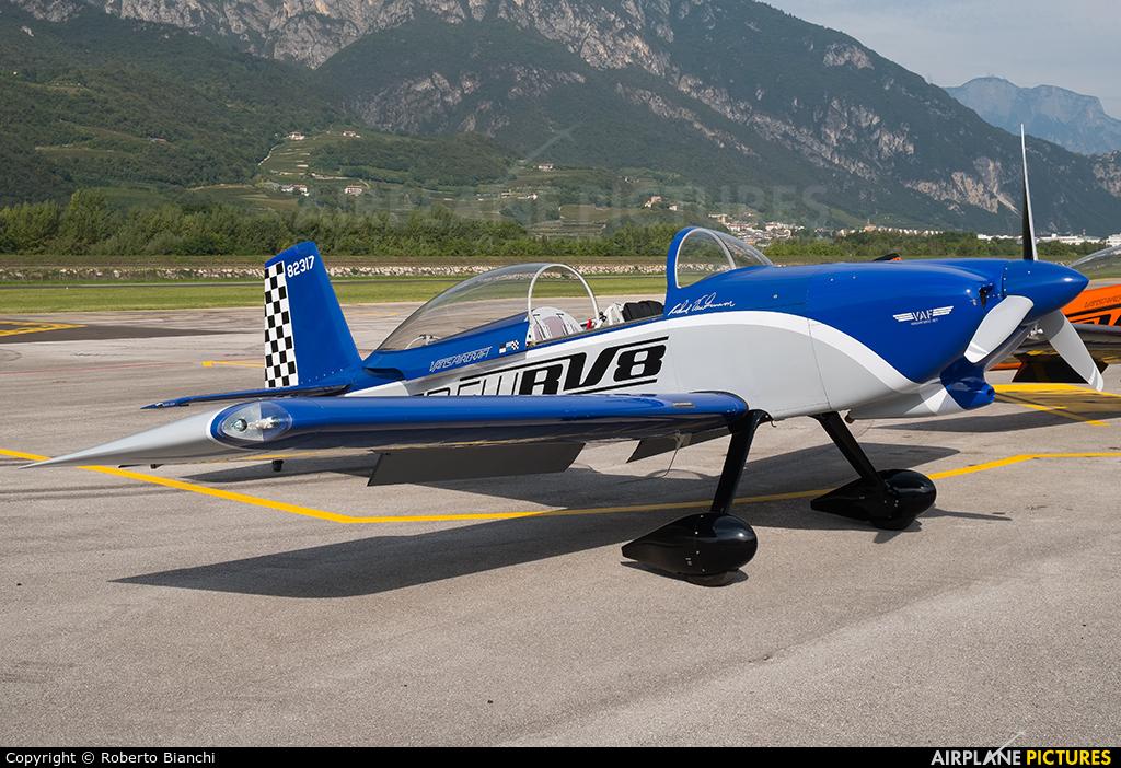 Private I-LUKE aircraft at Trento - Mattarello