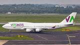 Rare visit of Wamos Air B744 to Dusseldorf