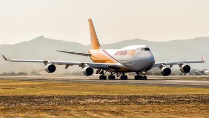 N742WA - Centurion Air Cargo Boeing 747-400BCF, SF, BDSF