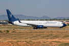 Blue Panorama B738 makes a special flight between Valencia and Bologna
