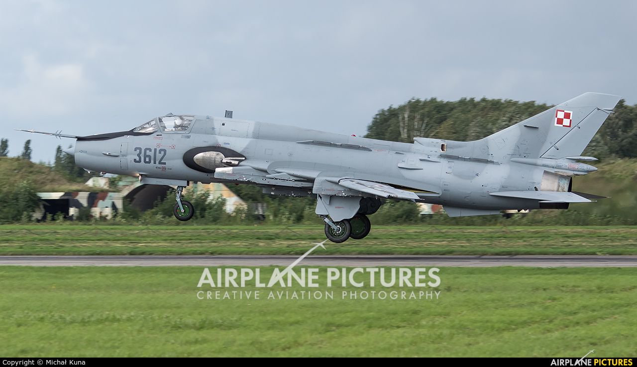Poland - Air Force 3612 aircraft at Malbork