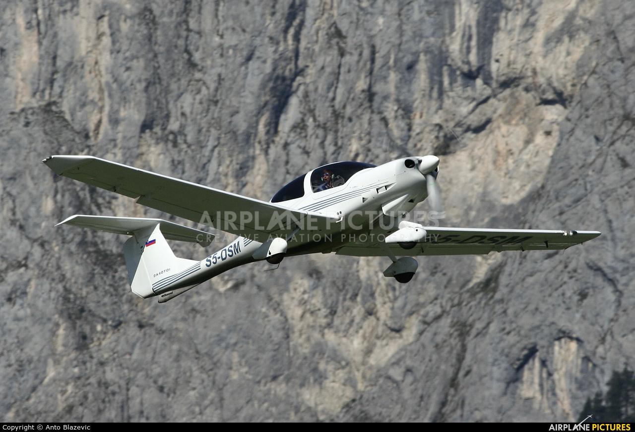 Private S5-DSM aircraft at Innsbruck