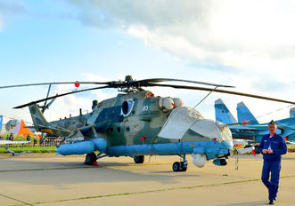 (UUMB - Russia - Air Force Mil Mi-35M