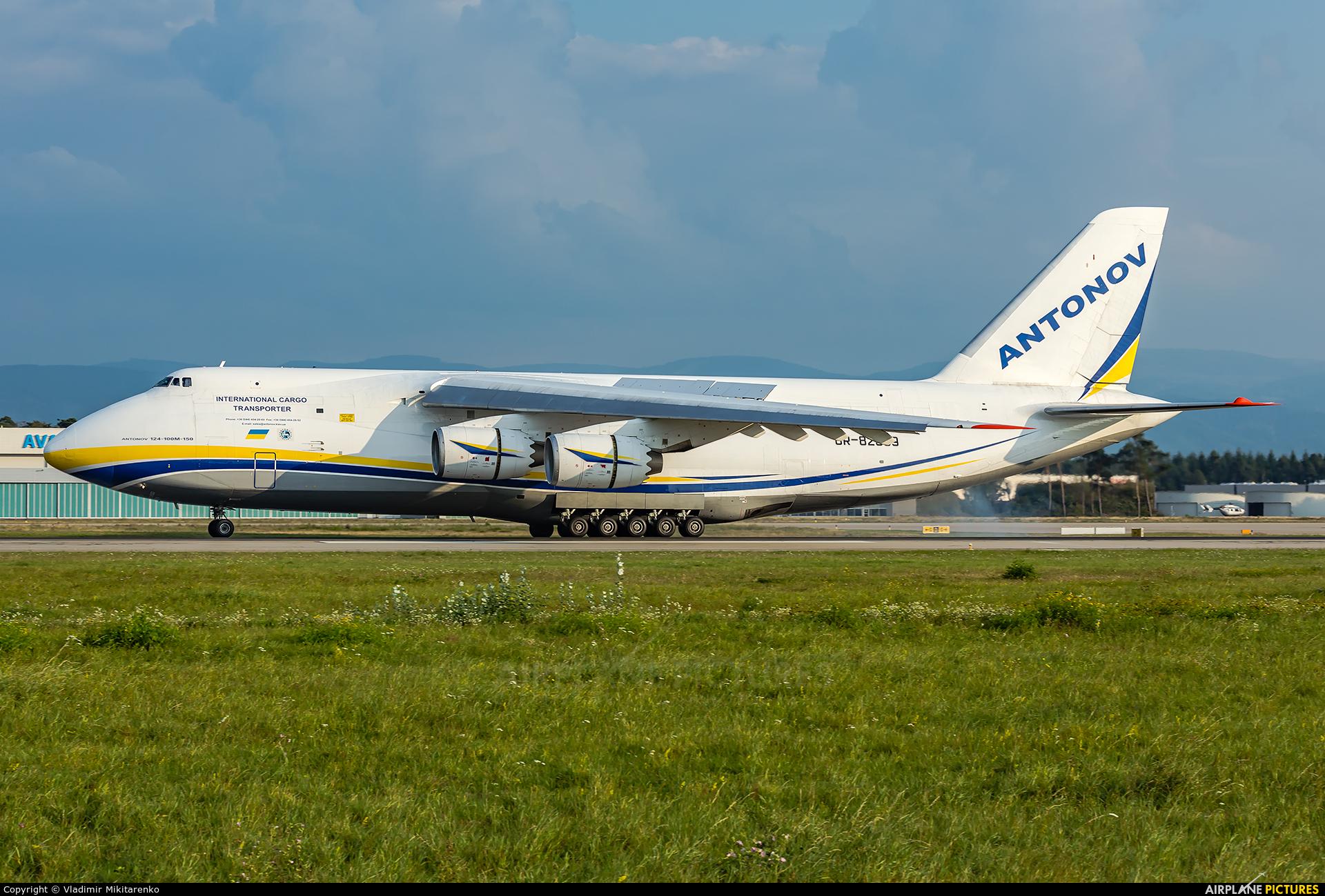Antonov Airlines /  Design Bureau UR-82009 aircraft at Karlsruhe Baden-Baden