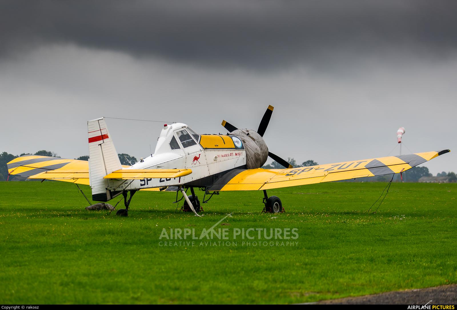 Private SP-ZUT aircraft at Lublin Radawiec