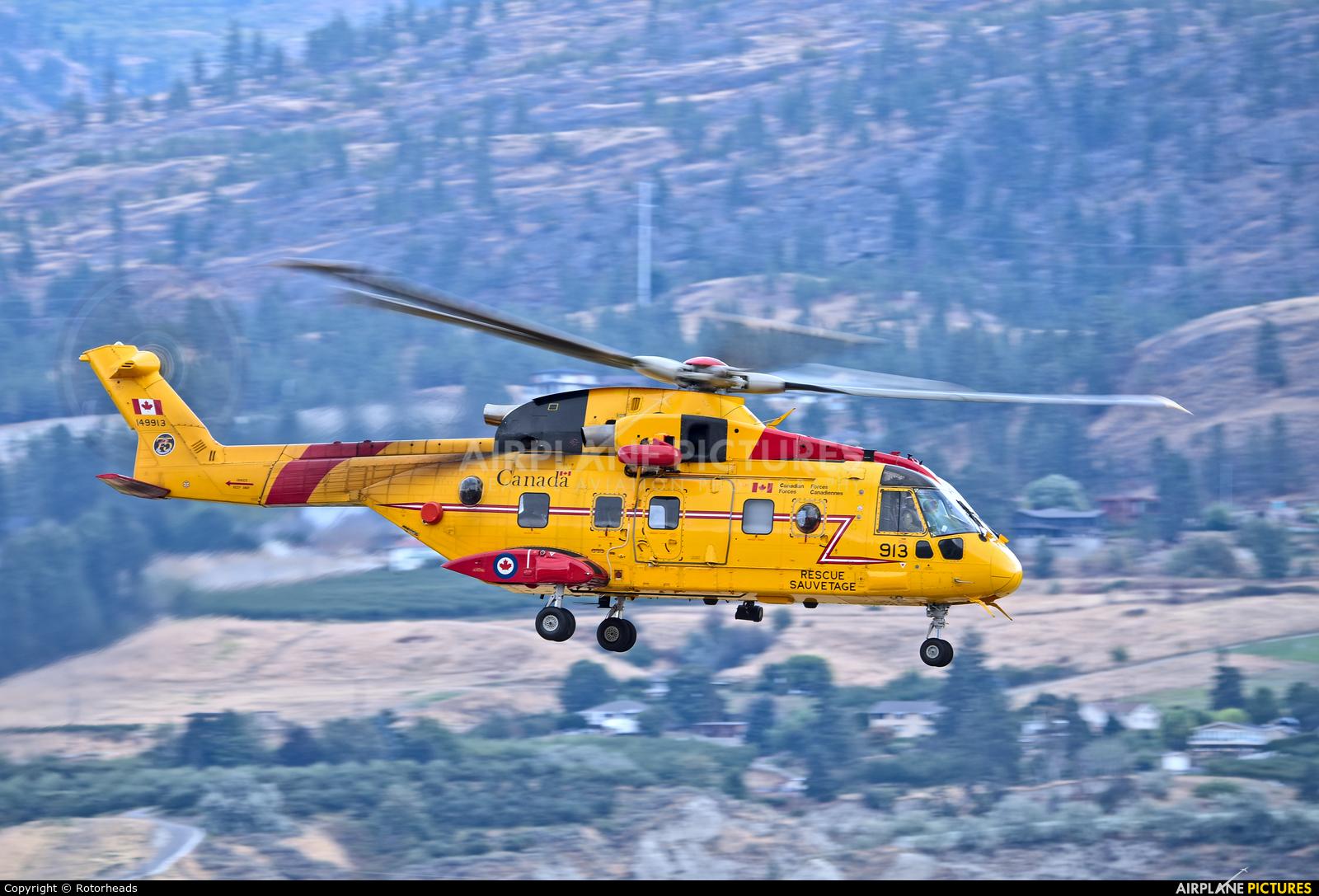 Canada - Air Force 149913 aircraft at Penticton Airport, BC