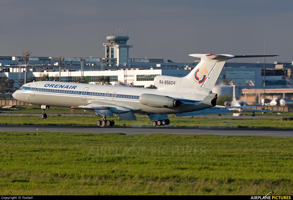 Orenair RA-85604 aircraft at Moscow - Domodedovo