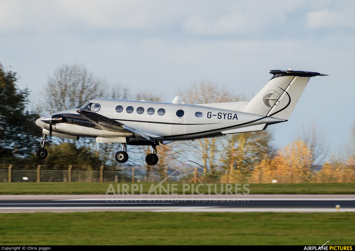 Synergy Aircraft Leasing G-SYGA aircraft at East Midlands