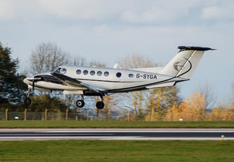 G-SYGA - Synergy Aircraft Leasing Beechcraft 200 King Air