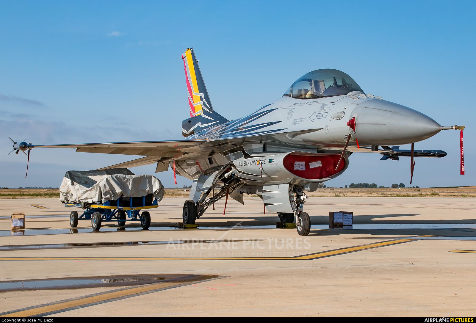 Belgium - Air Force FA-123 aircraft at Lleida - Alguaire