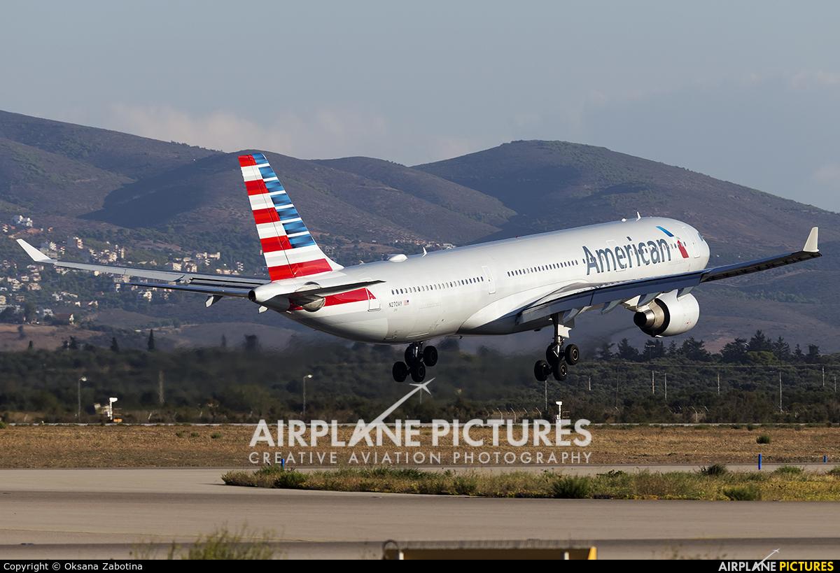 American Airlines N270AY aircraft at Athens - Eleftherios Venizelos