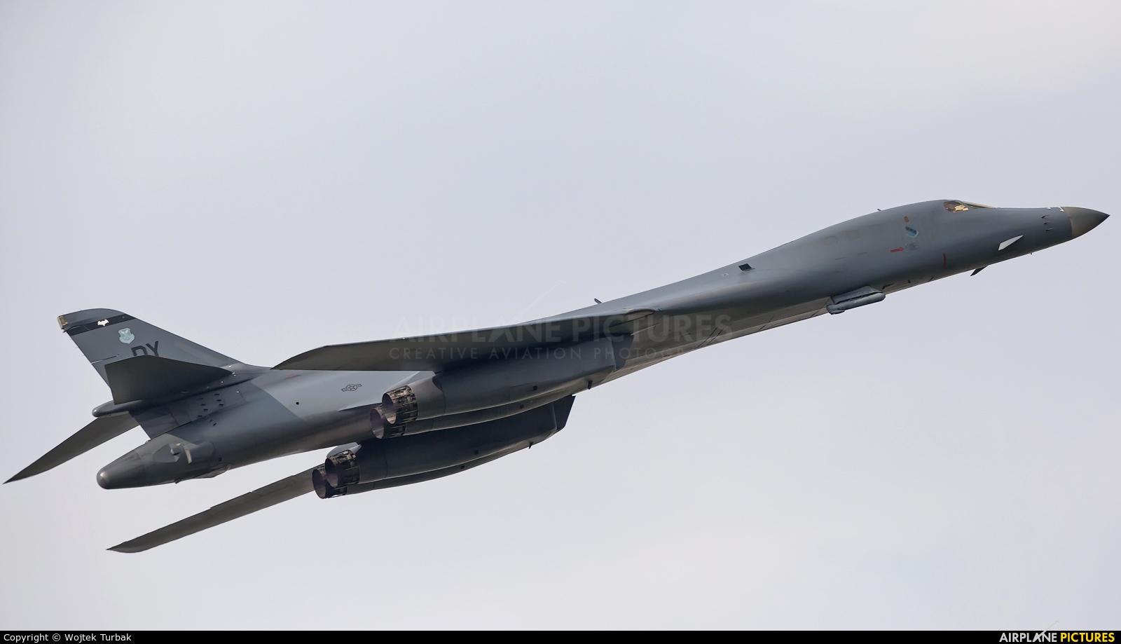 USA - Air Force 86-0124 aircraft at Radom - Sadków