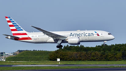N800AN - American Airlines Boeing 787-8 Dreamliner