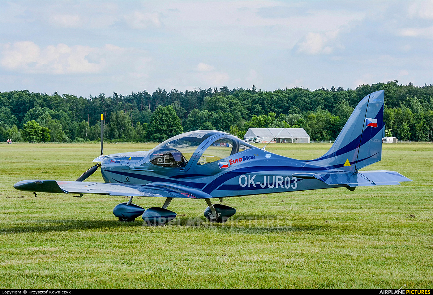 Private OK-JUR03 aircraft at Rybnik - Gotartowice