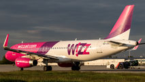 HA LWS - Wizz Air Airbus A320 aircraft