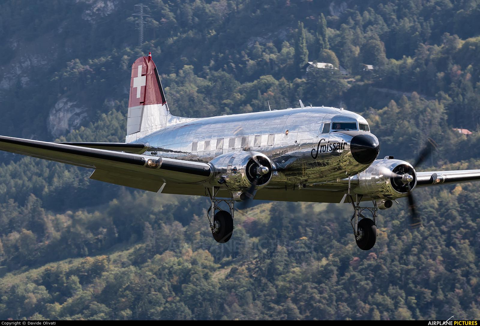 Mathys Aviation N431HM aircraft at Sion