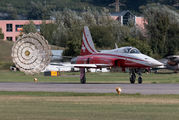 J-3087 - Switzerland - Air Force:  Patrouille de Suisse Northrop F-5E Tiger II aircraft