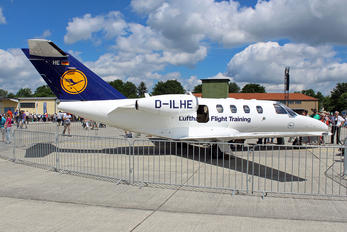 D-ILHE - Lufthansa Flight Training Cessna 525 CitationJet