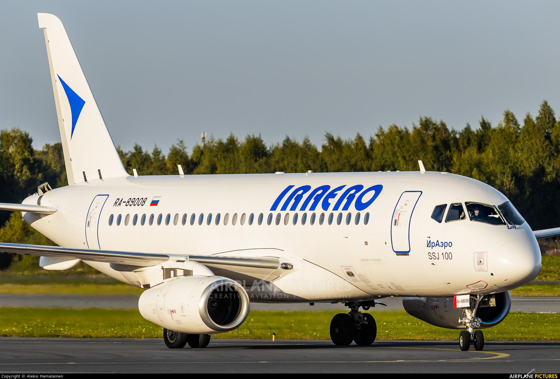 Iraero RA-89008 aircraft at Helsinki - Vantaa