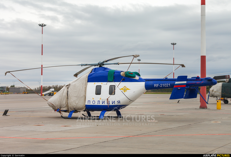 Russia - Police RF-21021 aircraft at Kazan