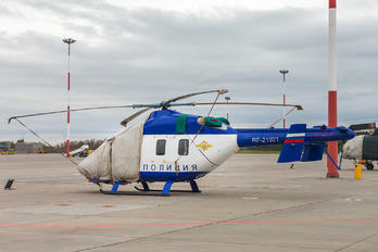 RF-21021 - Russia - Police Kazan helicopters Ansat