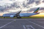 First visit of Ethiopian A350 to Dublin title=