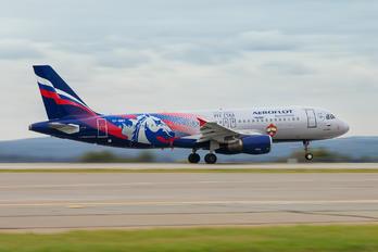 VP-BWD - Aeroflot Airbus A320