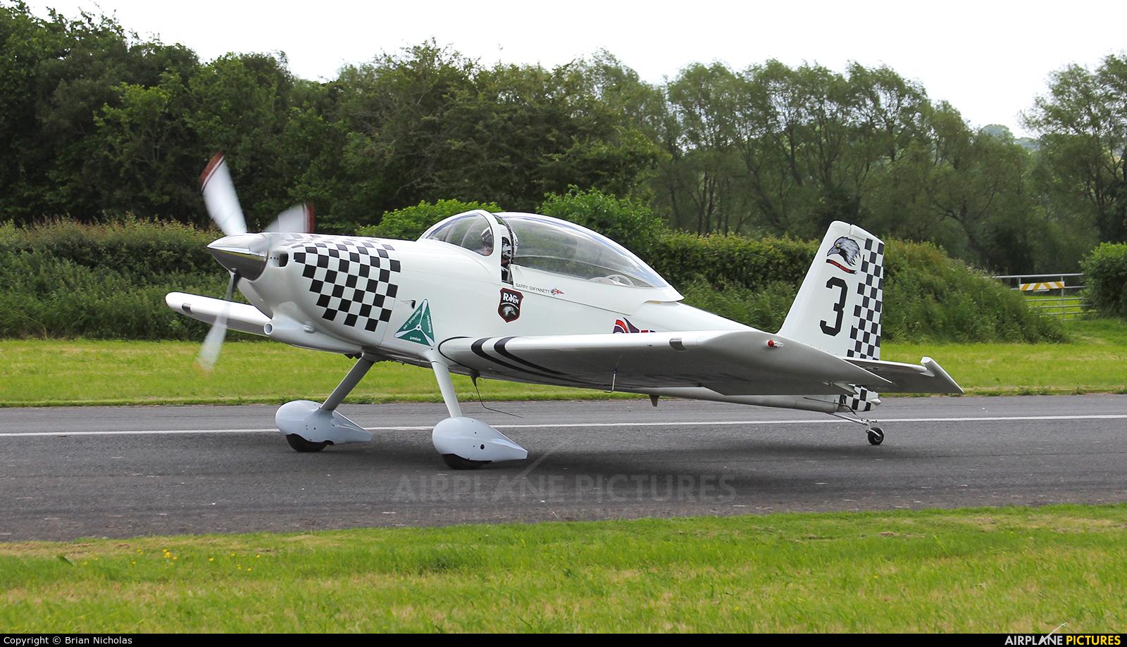 Team Raven G-EGRV aircraft at Welshpool