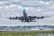 PH-BFH - KLM Boeing 747-400 aircraft