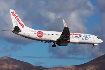 EC-LYR - Air Europa Boeing 737-800
