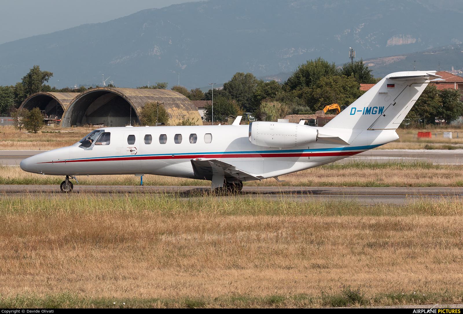 Private D-IMGW aircraft at Verona - Villafranca