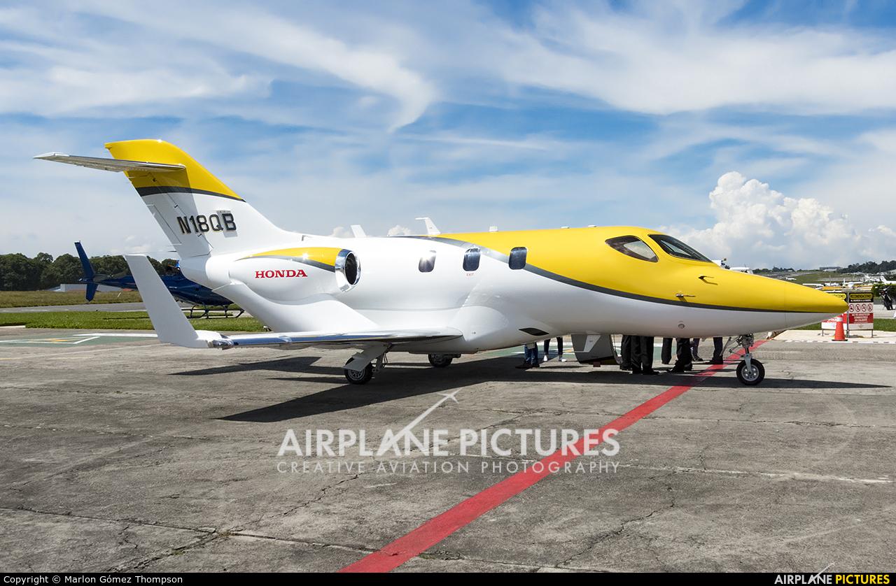 Honda Aerospace N18QB aircraft at Guatemala - La Aurora