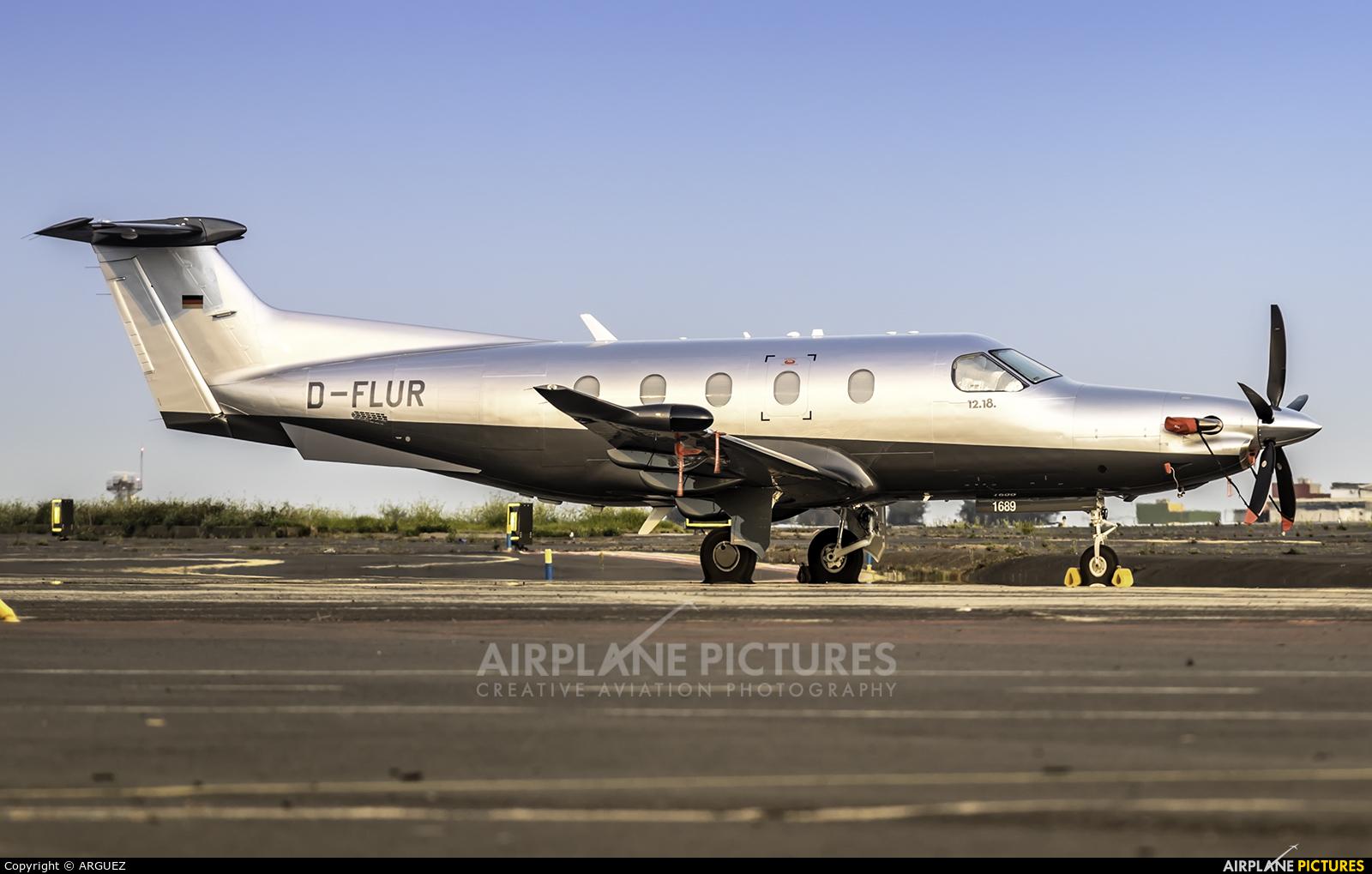 Private D-FLUR aircraft at Tenerife Norte - Los Rodeos