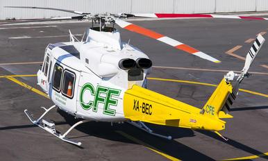 XA-BEC - Mexico - Government Bell 412EP