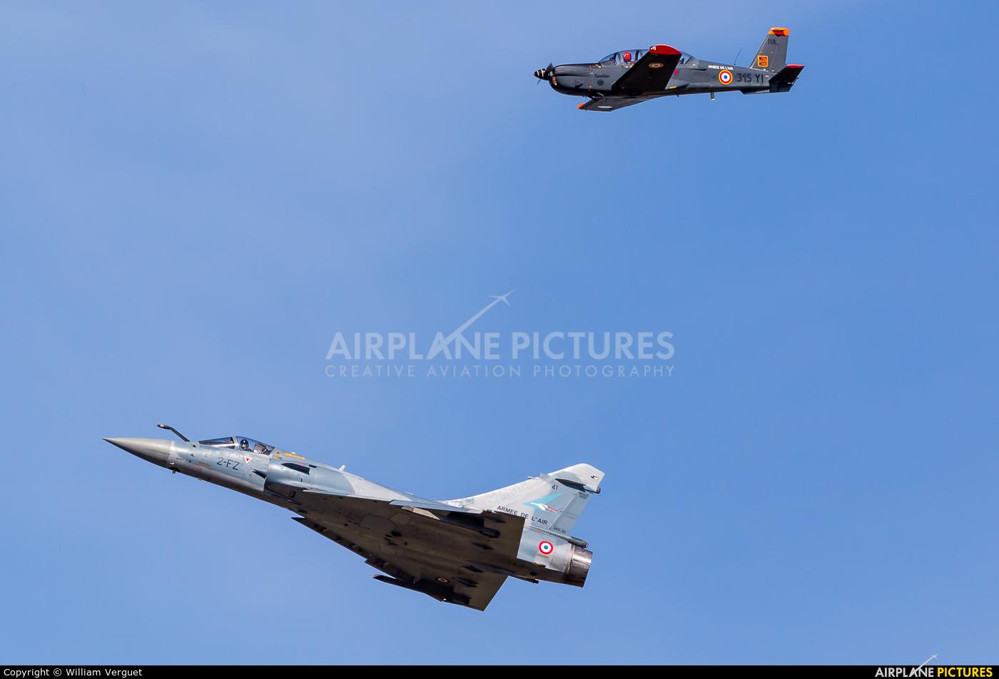 France - Air Force 41 aircraft at Morlaix Ploujean Airport
