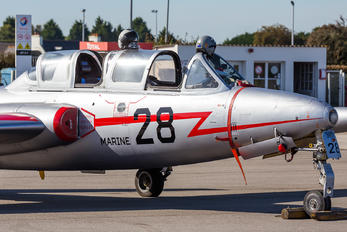 F-AZPF - Private Fouga CM-170 Magister