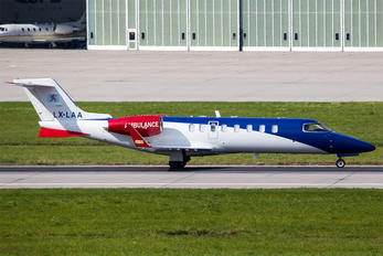 LX-LAA - Luxembourg Air Rescue Learjet 45