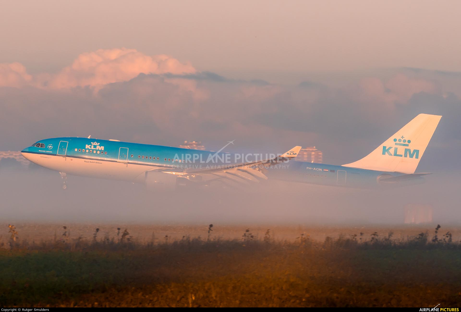 KLM PH-AON aircraft at Amsterdam - Schiphol
