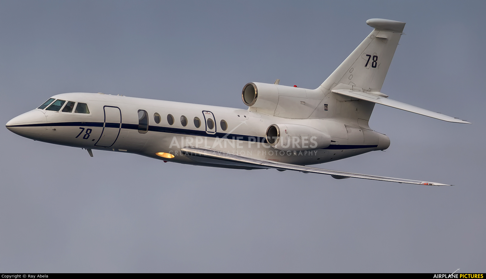 78 france air force dassault falcon 50 marine at off airport