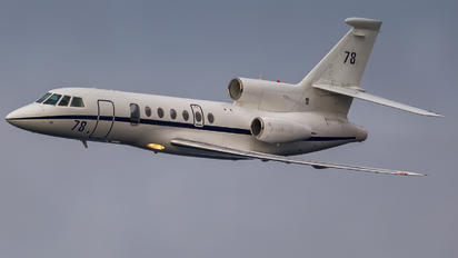 78 - France - Air Force Dassault Falcon 50 Marine