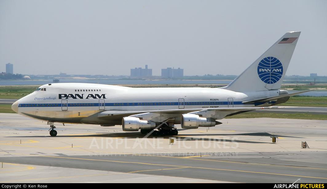 Pan Am N536PA aircraft at New York - John F. Kennedy Intl