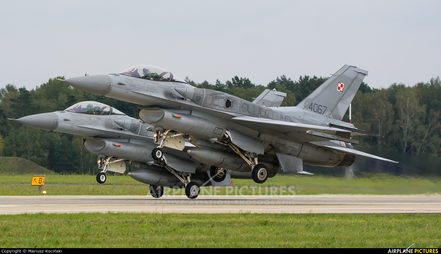 Poland - Air Force 4067 aircraft at Łask AB