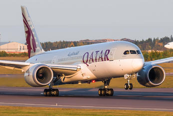 A7-BCW - Qatar Airways Boeing 787-8 Dreamliner