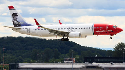 LN-NIB - Norwegian Air Shuttle Boeing 737-800