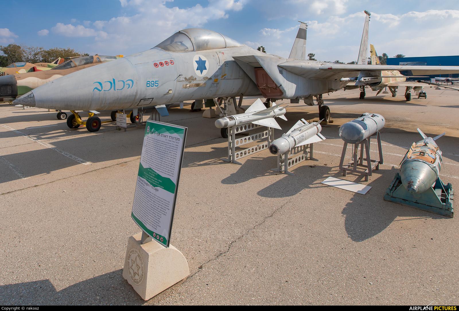 Israel - Defence Force 695 aircraft at Beersheba - Hatzerim