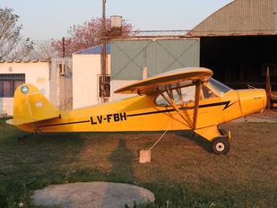 LV-FBH - Private Piper PA-11 Cub