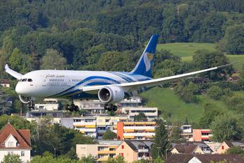 A4O-SZ - Oman Air Boeing 787-8 Dreamliner